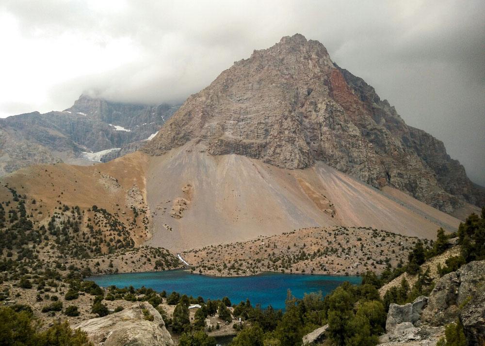 Un des lacs d'Alaudin