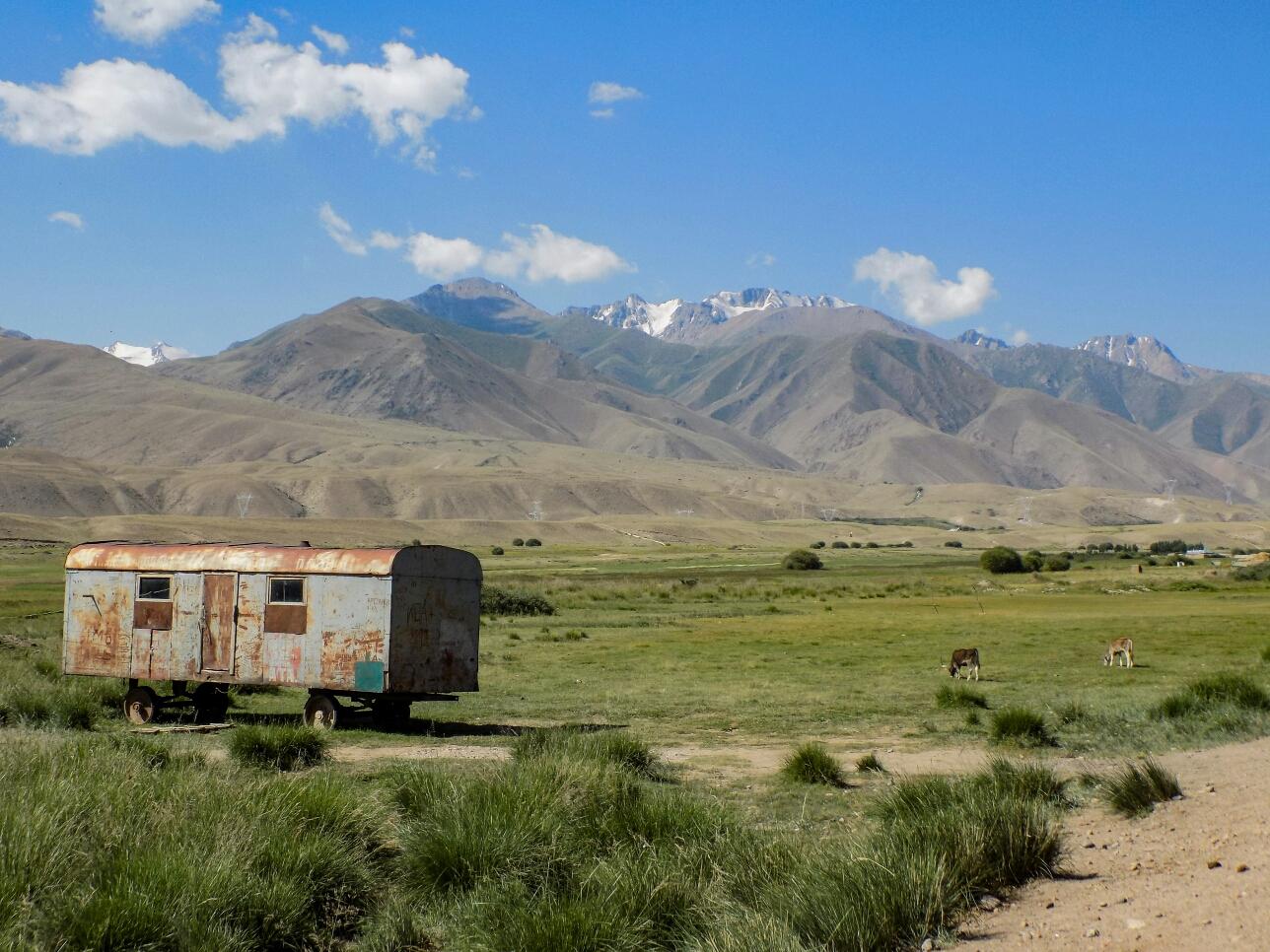 En route vers le Kyzart Pass