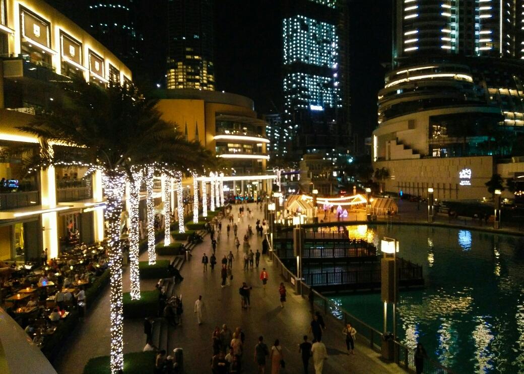 Dubai Mall, ou un endroit où on ne se sentait pas tout à fait à notre place..