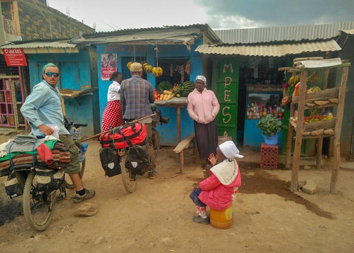 Épiceries dans les villages