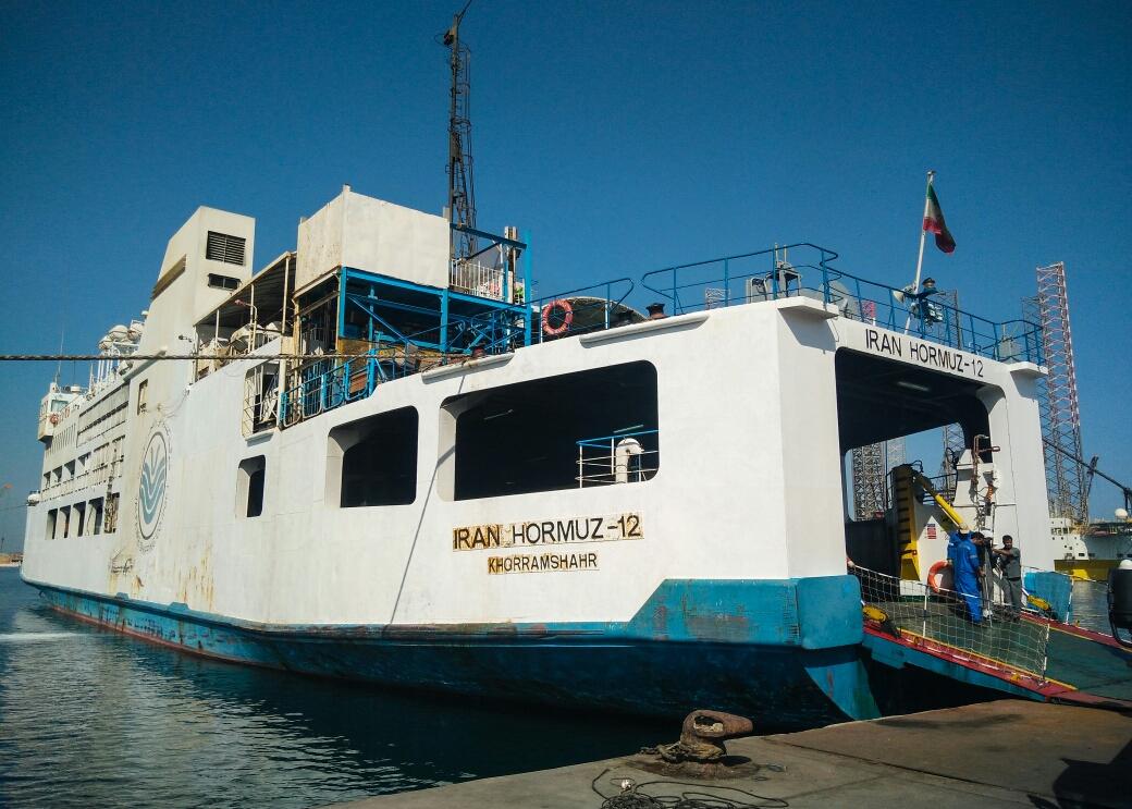 Le bateau Iran-Émirats