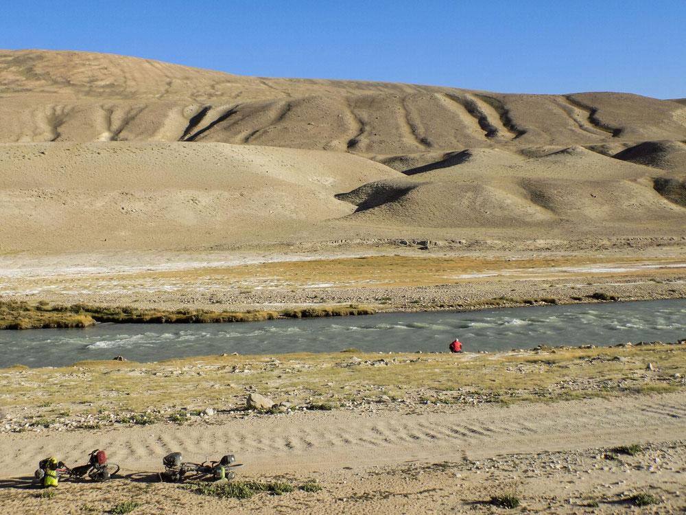Une rivière, deux pays.