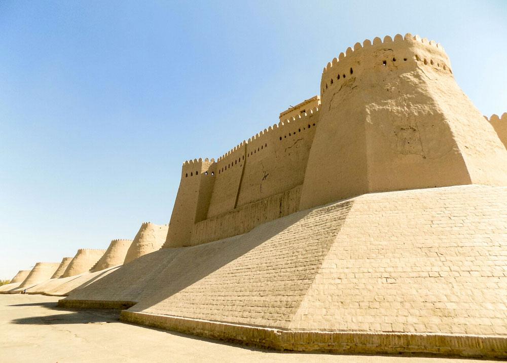 La citadelle fortifiée qui encadre la vieille ville