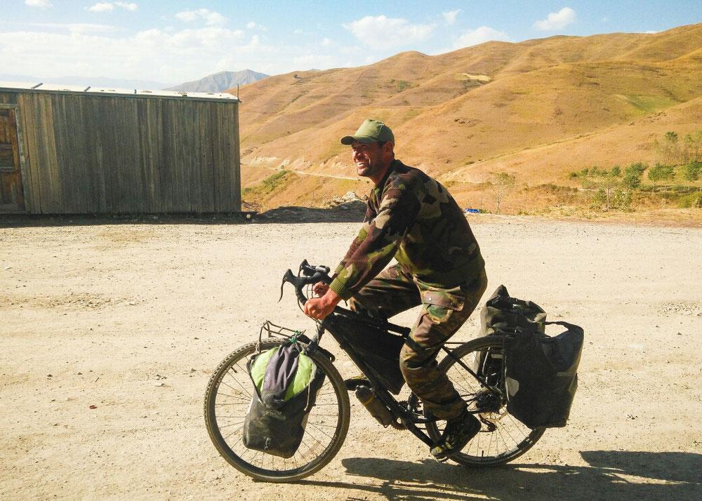 Lui par contre il a adoré ! On ne l'arrêtait plus ! Il a fini la montée en s'auto déclarant Arnold Schwarzenegger!