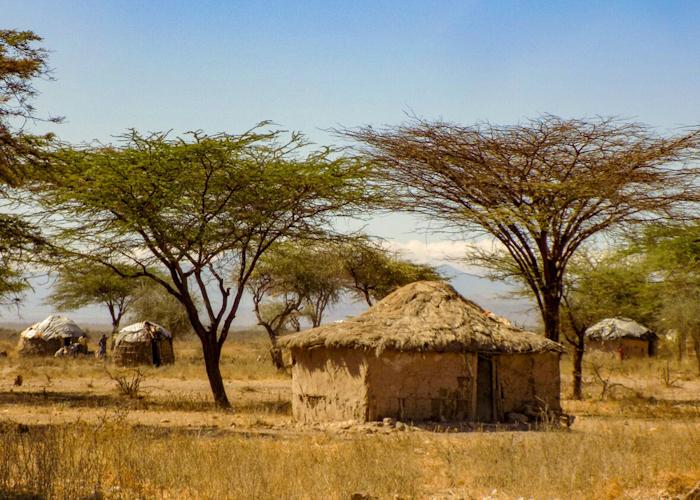 Changement de décor, dans les plaines le climat est très aride..