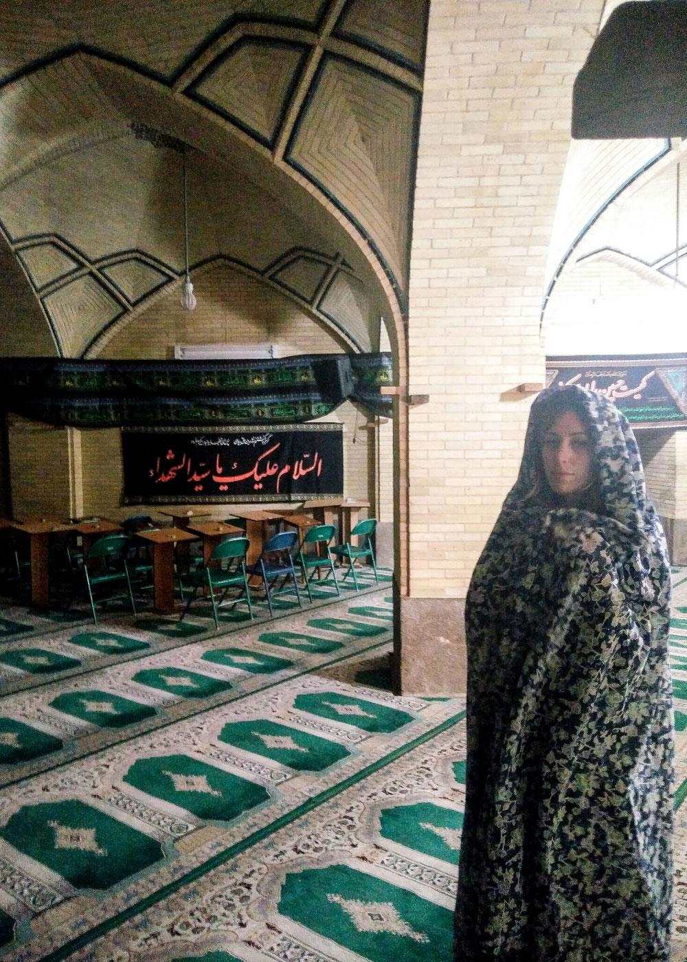 Madrasa, à l'intérieur.
