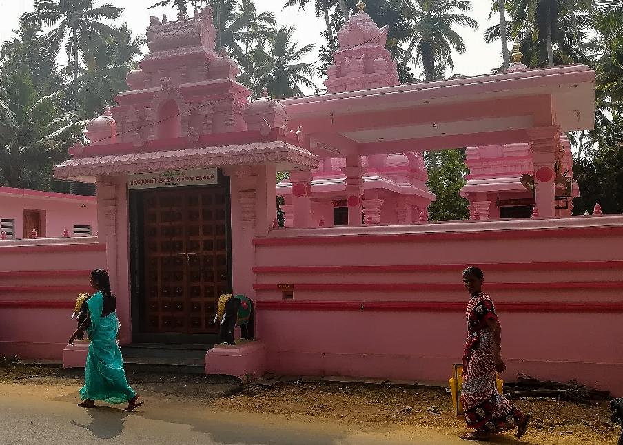 Des temples de toutes les couleurs ! Malabar style!