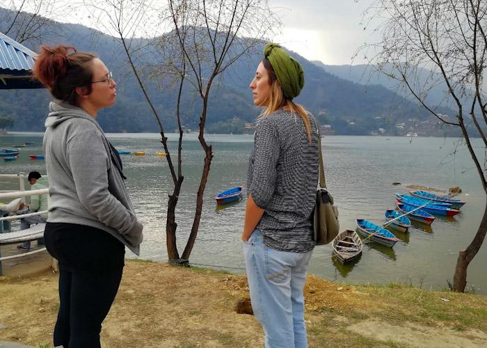 On retrouve Helenka à Pokhara