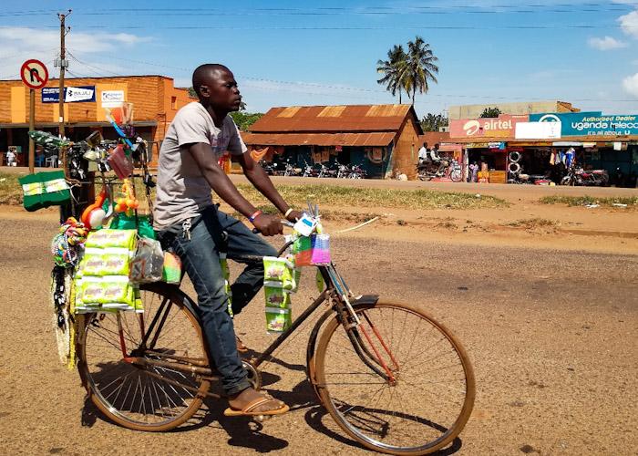 Vélo - épicerie ambulante