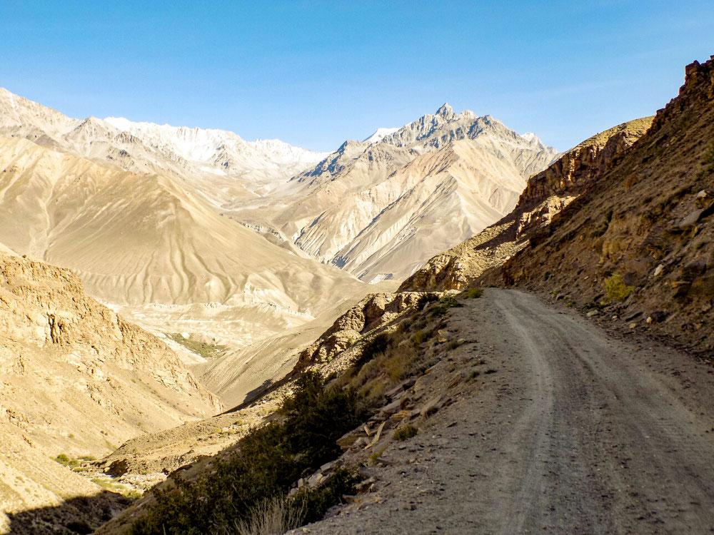Route magnifique du Wakhan