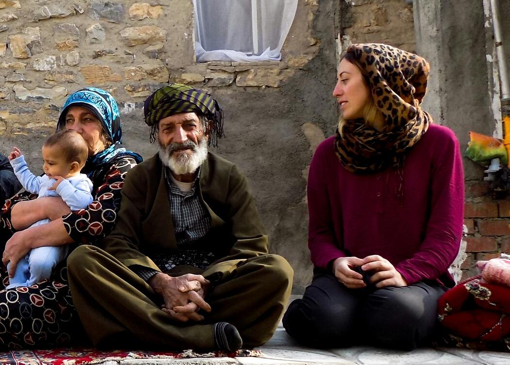 Avec les parents de Sarkaw