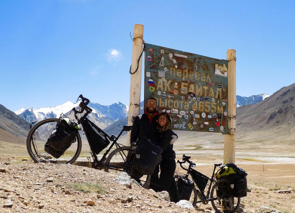 Ak Baïtal Pass!! 4655m! Photo de la fierté ultime