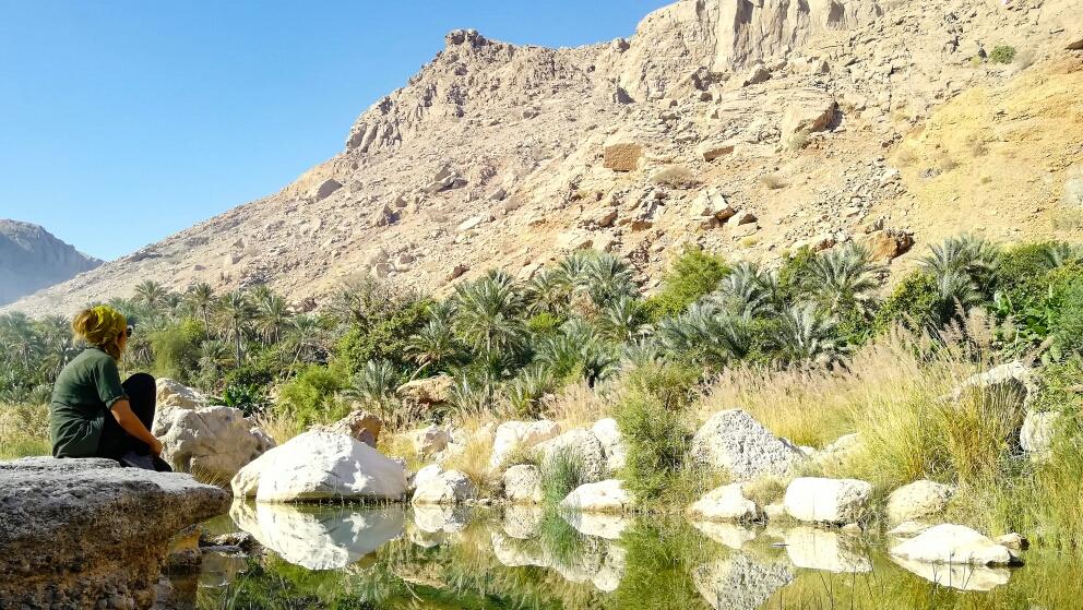 Wadi Tiwi, encore plus de vert !!