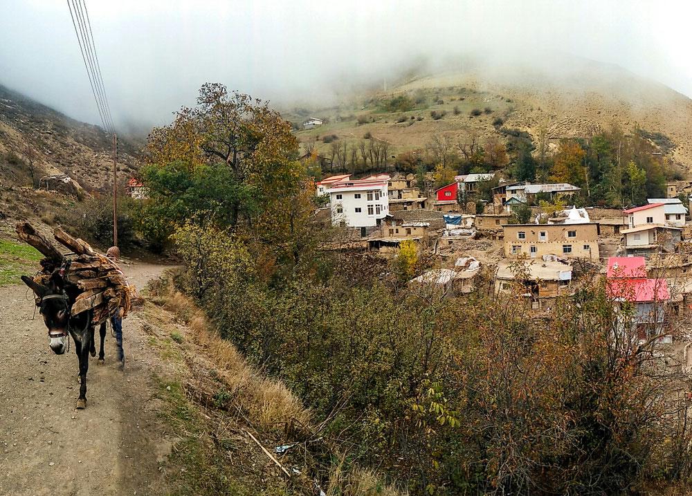 Tout petit village de montagne