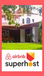 Las Bugambilias Malinalco B&B classée SUPERHOST Airbnb
