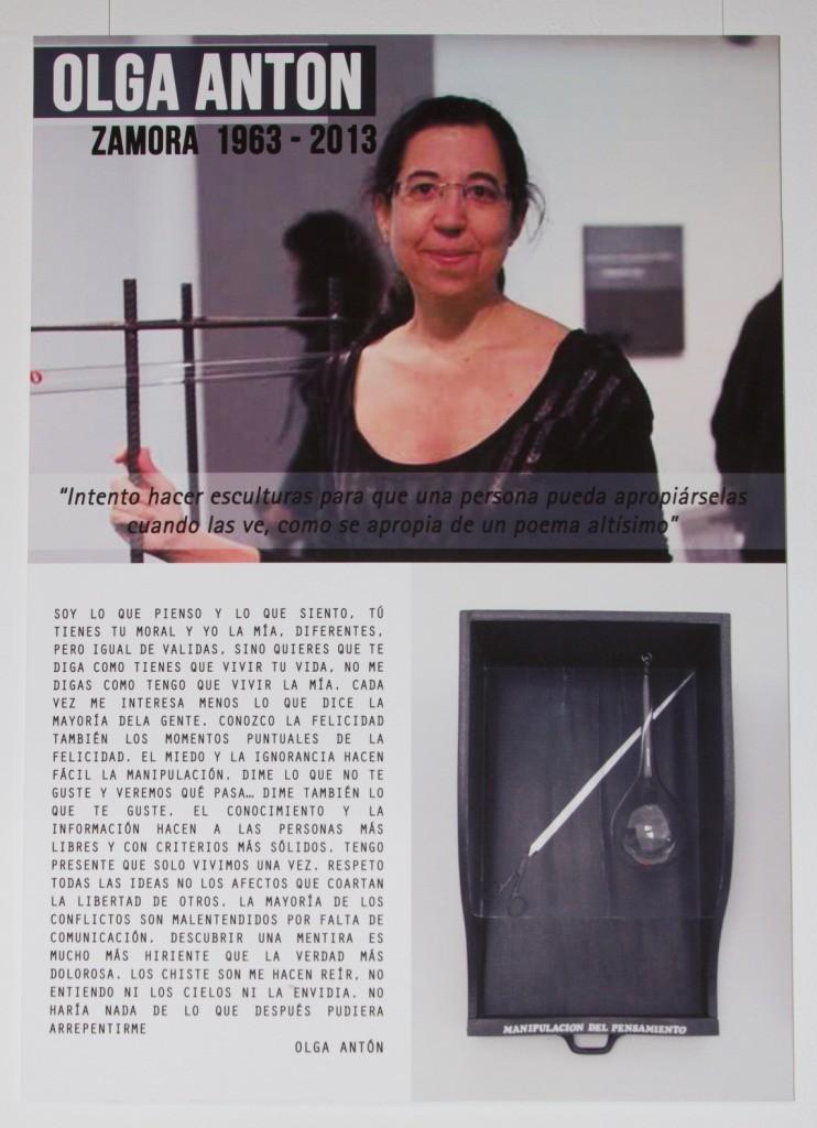 """Acto de inauguración, día 16 de marzo de 2015, de la exposición. """"ESCULTURA CON NOMBRE DE MUJER"""""""