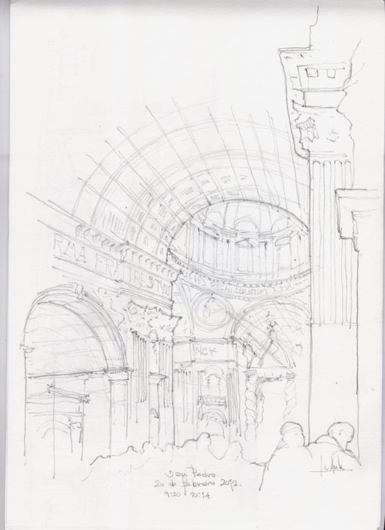 Roma. Interiore di San Pietro