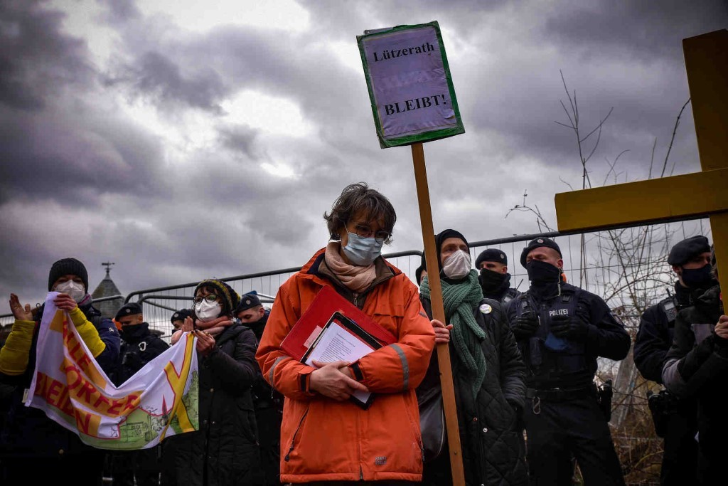 Die Menschen in Lützerath sind verzweifelt  (Foto: Alexander Frank)