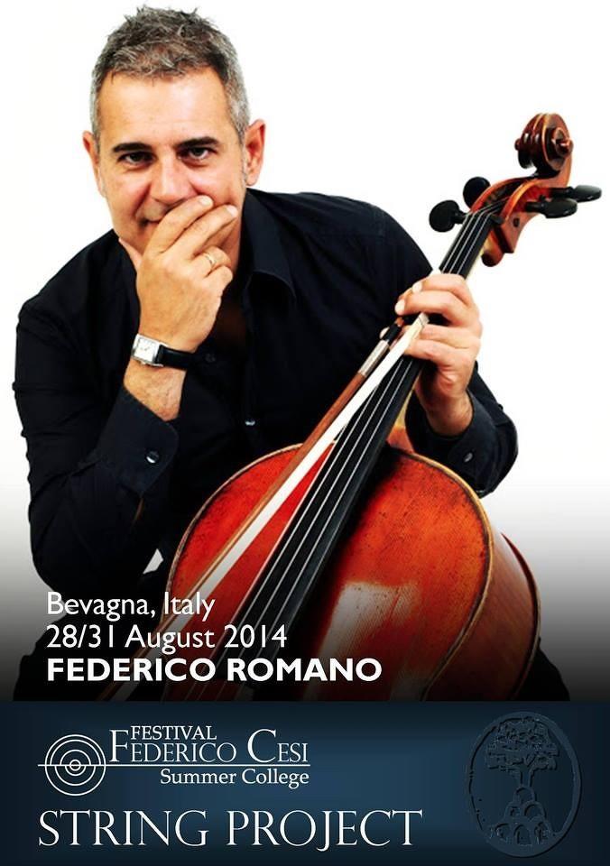 MasterClass in Violoncello per il Festival Federico Cesi.