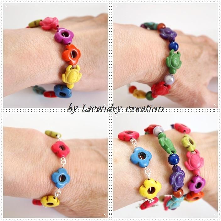 les bracelets pop portés