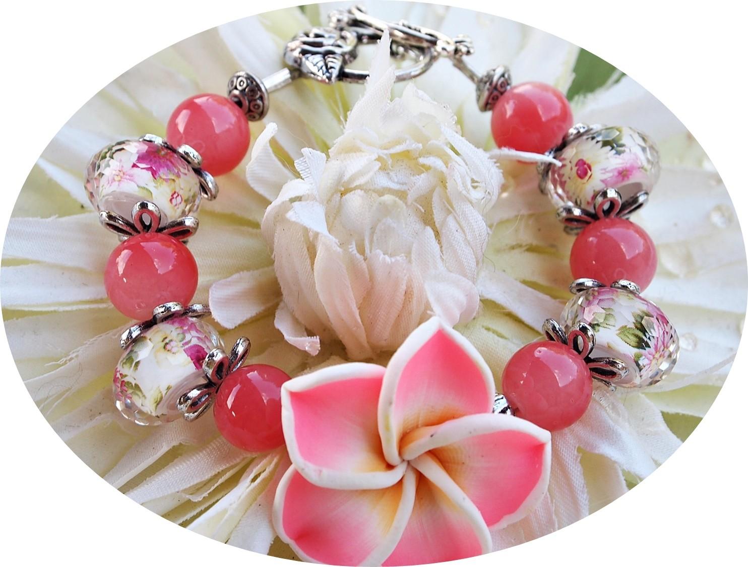 bracelet fleur de tiaré tipanié