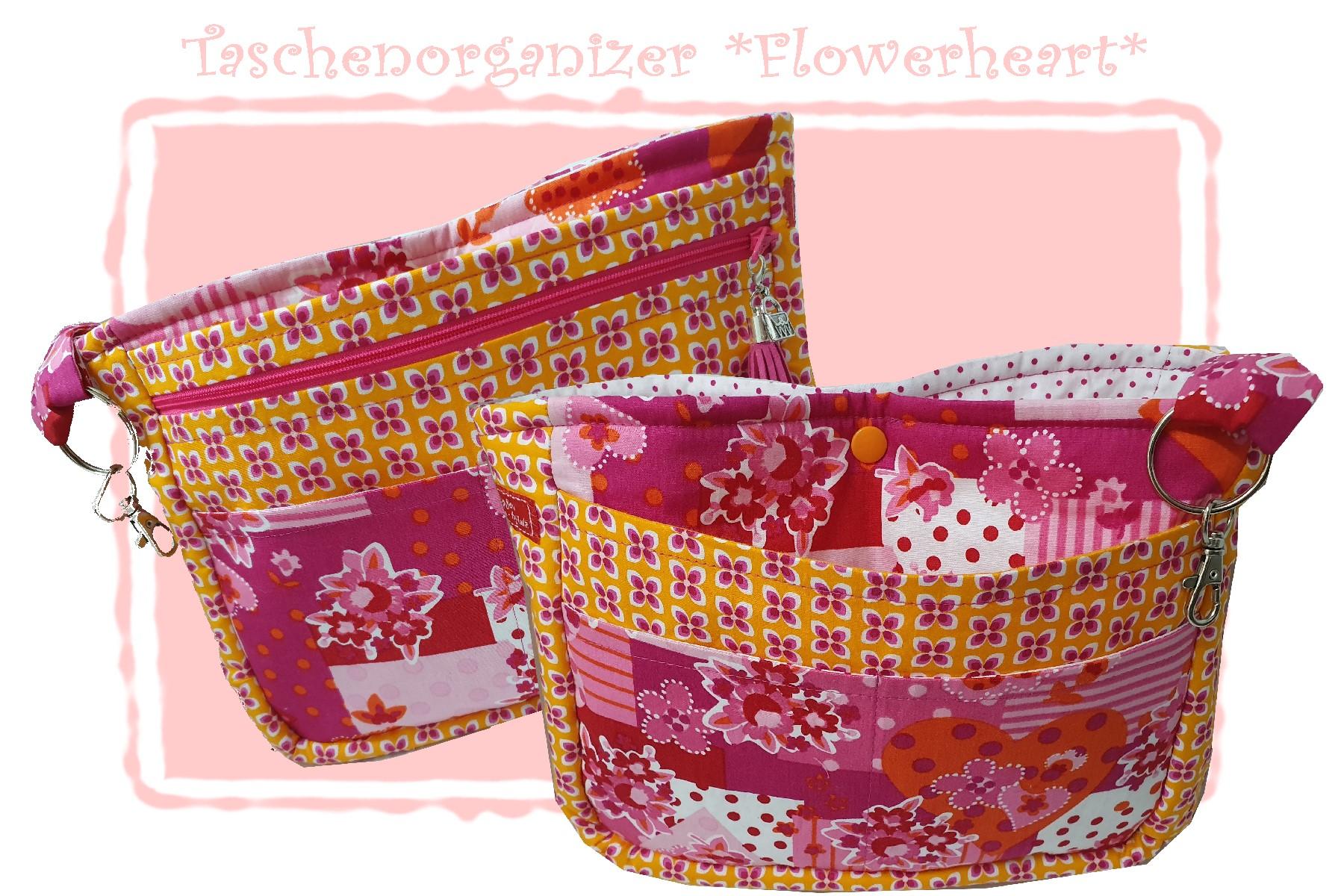 Taschen-Organizer *Flowerheart*  34,00 €