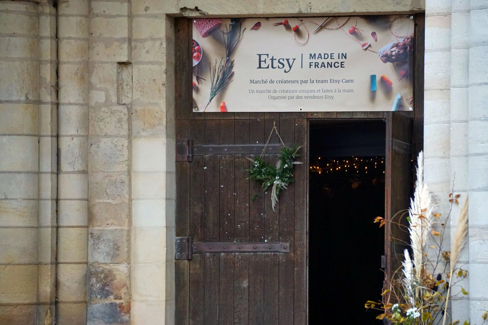 Marché de Noël ETSY - Caen