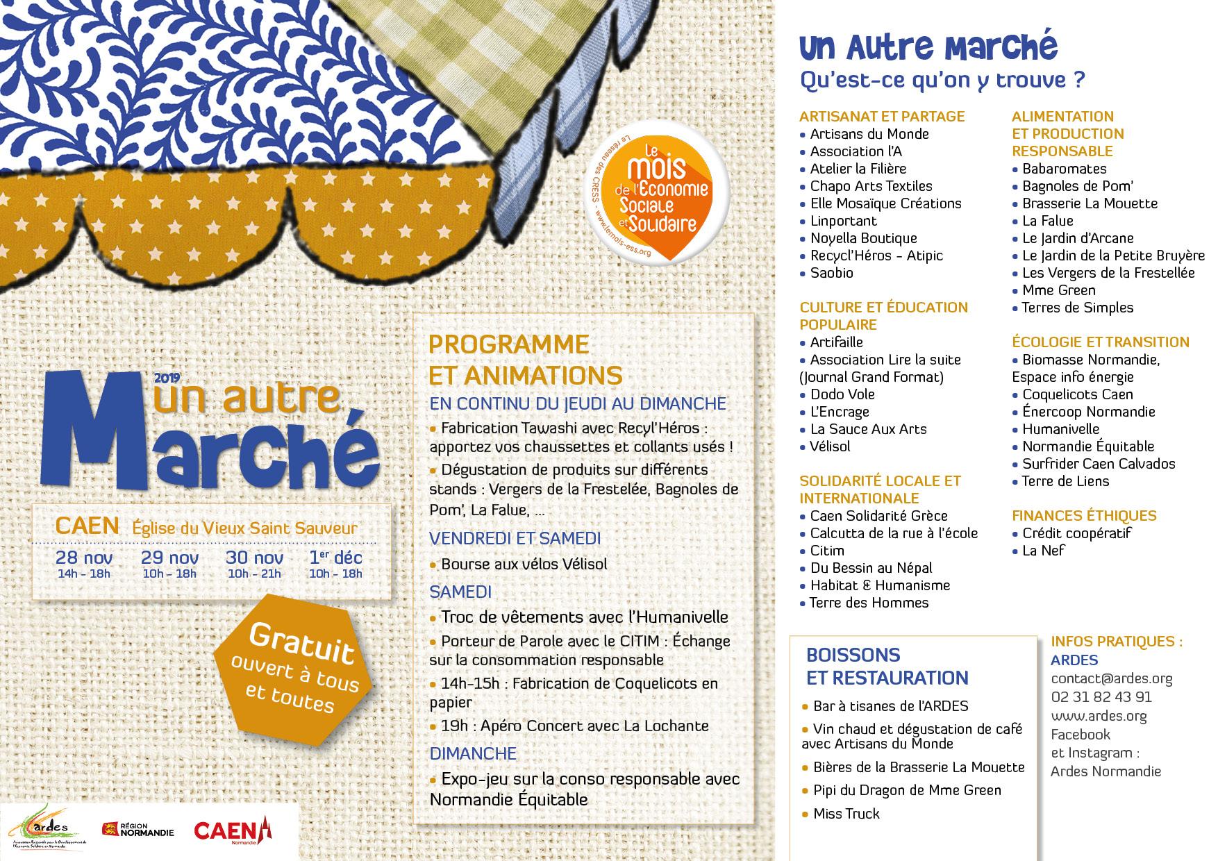 """""""Un autre marché"""" à Caen"""