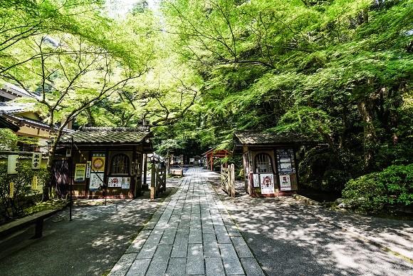 石山寺境内の様子