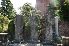 浦上天主堂・被爆した聖像