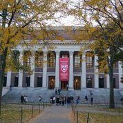 ハーバード大学 ワイドナー記念図書館