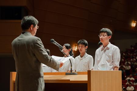 ※岐阜高校の研究は、ポスター(パネル)発表部門の奨励賞を受賞しました。