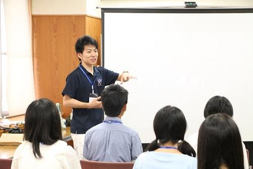 現役海外大学生によるプレゼンテーション