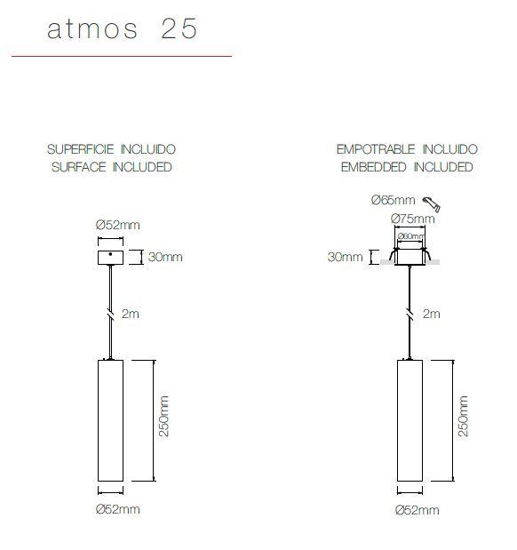 Maße ATMOS 25