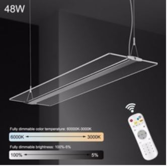 PL-HD LED HighTec Design transparente Leuchte Farben steuerbar
