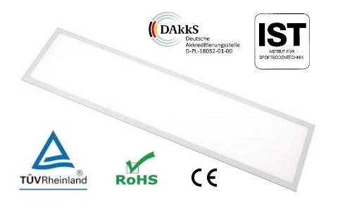 PL-VDE312 LED Panels für Innensportstätten mit Ballwurfzertifikat