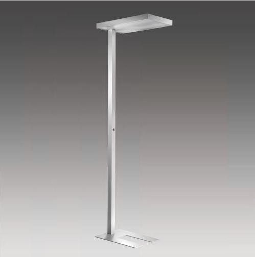 LED Stehleuchte mit direkter und indirekter Beleuchtung und Tageslichtsensor