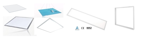 PL-PN LED Arbeitsplatzleuchten Decken - Panels