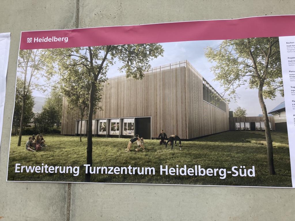 """""""Marliese Heldner"""": Grundsteinlegung Turnzentrum Heidelberg"""