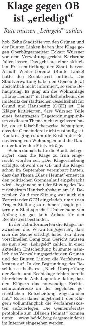 (Rhein-Neckar-Zeitung vom 12.06.2014)
