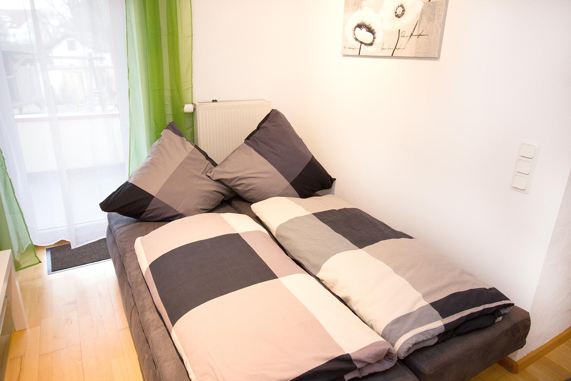 Bettcouch Wohnzimmer
