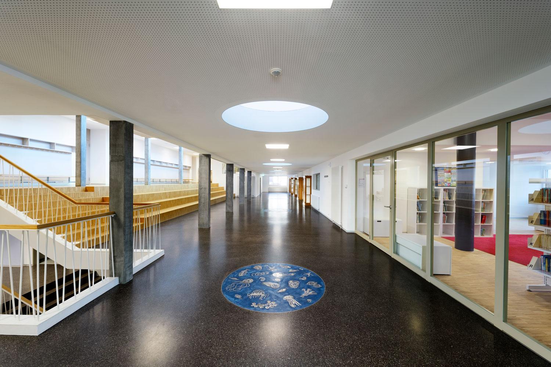 HertigNoetzli, Aarau | Kunst am Bau Bodenarbeit Karin Meier-Arnold