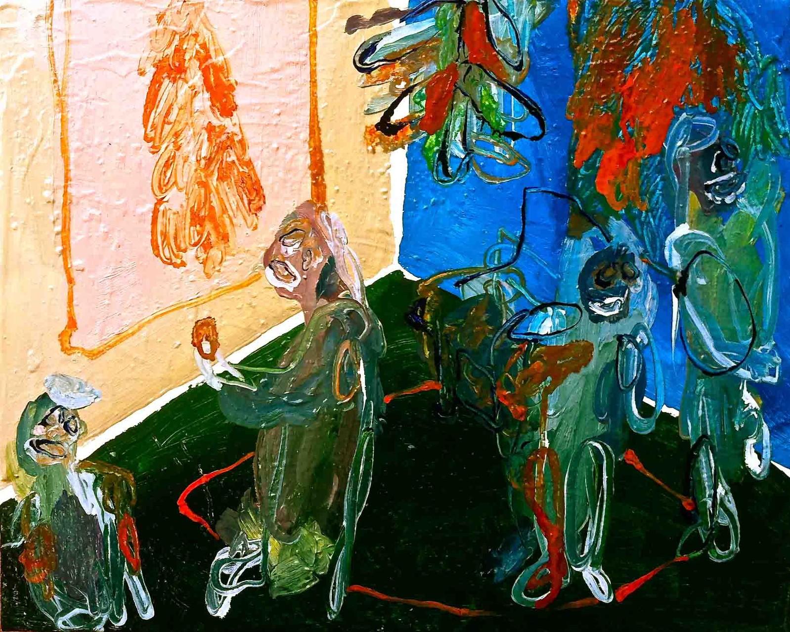 No title, tecnica mista su tela cm 30x24, 2014
