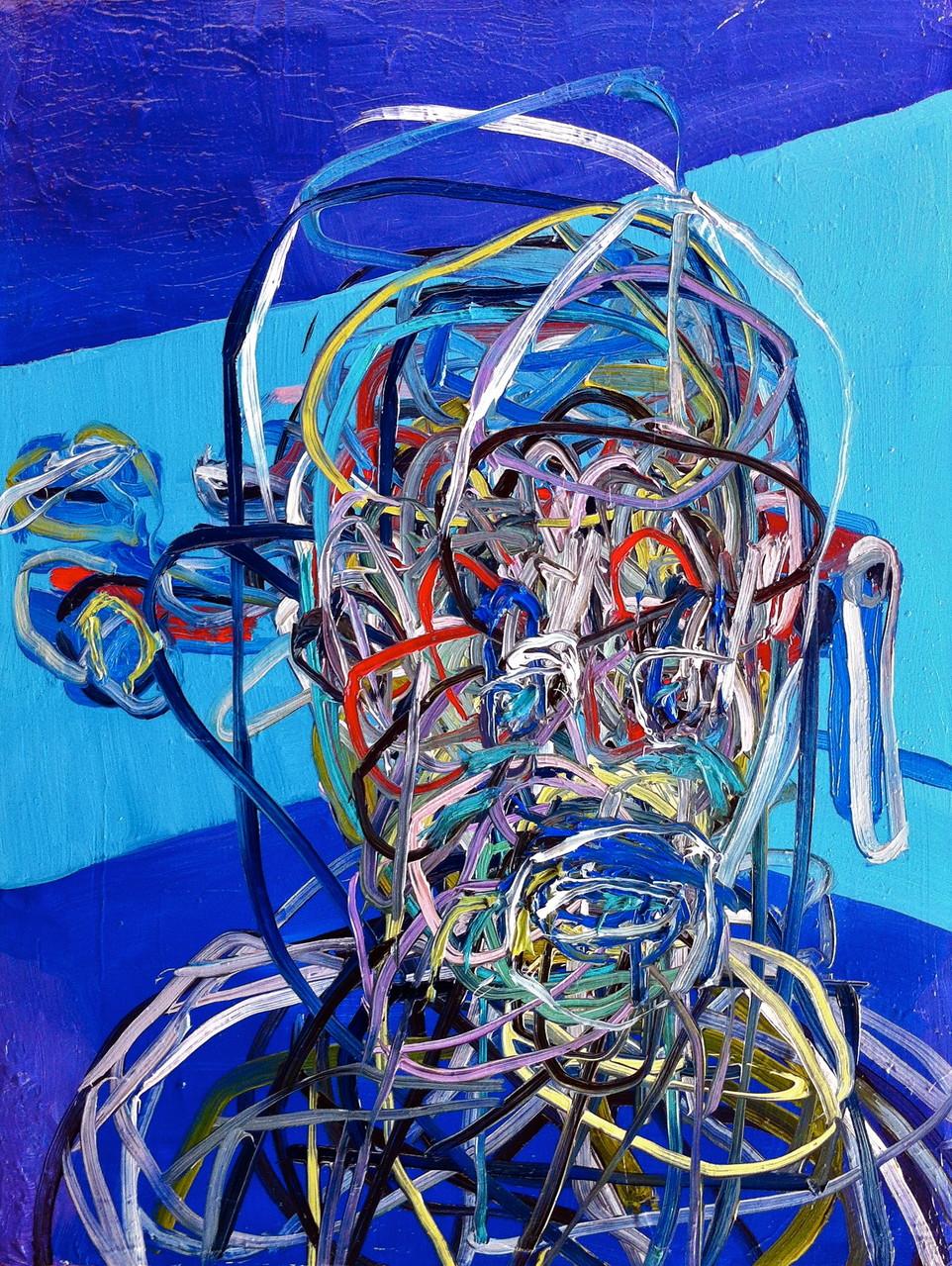 No title, olio su tela cm 35x45, 2014