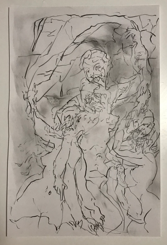 Untitled, graphite on paper cm 20x30, 2021