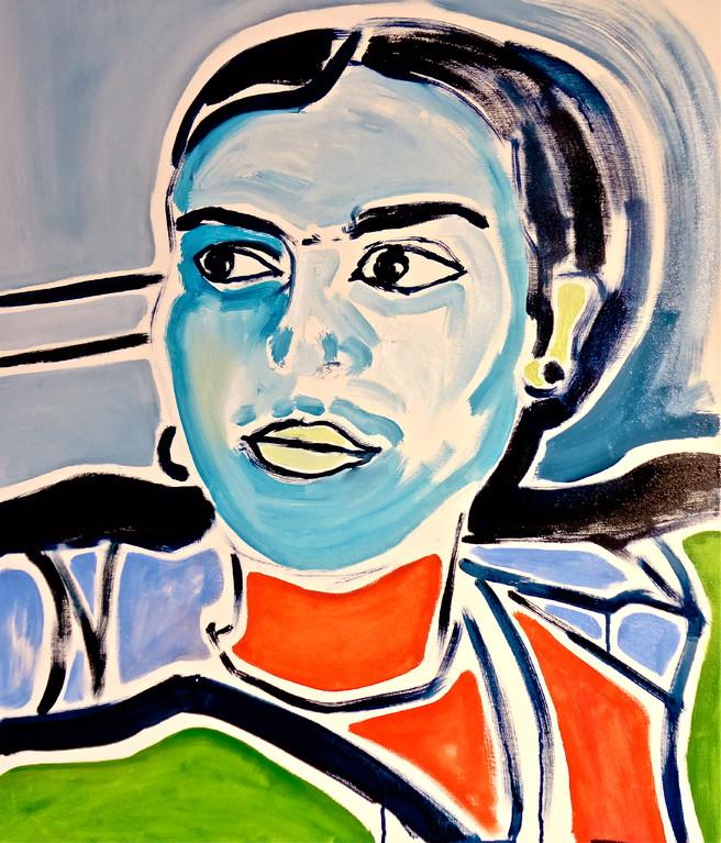 Centrinfrida,  olio su tela 60x70, 2012