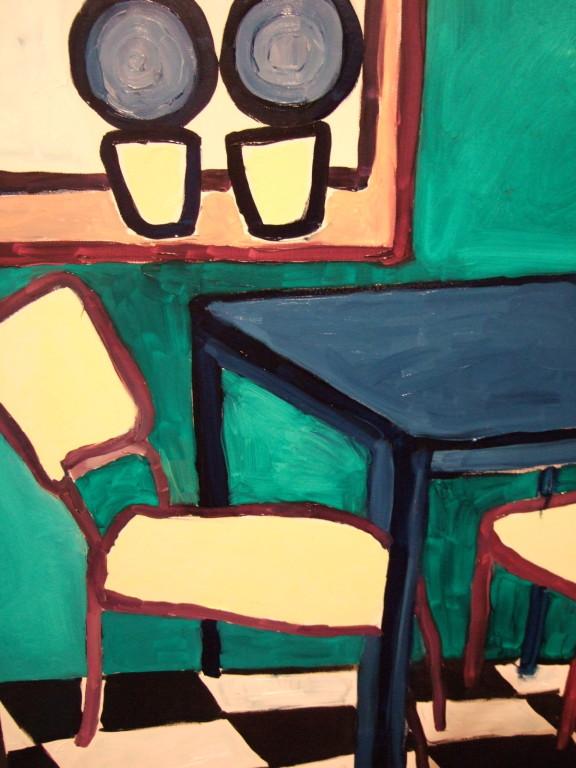 Centrintinello#2, olio su tela 80x60, 2009