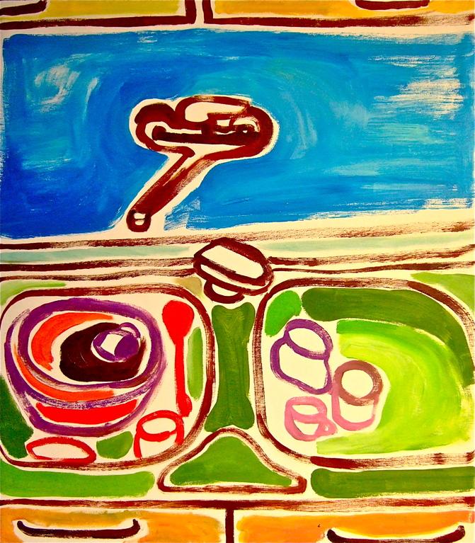 Centrinlavello, olio su tela 60x70, 2012