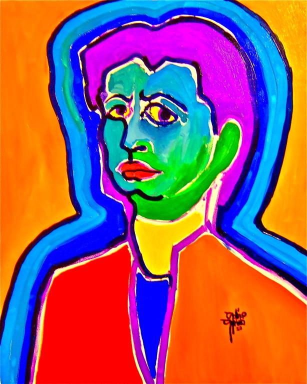 Centrindechirico, olio su tela 80x100, 2010