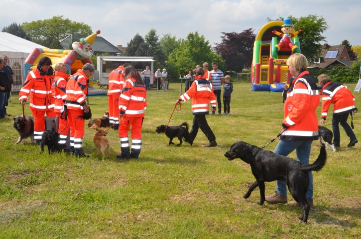 Die Hundeführerstaffel (Fotograf: Hans-Joachim Maaß)